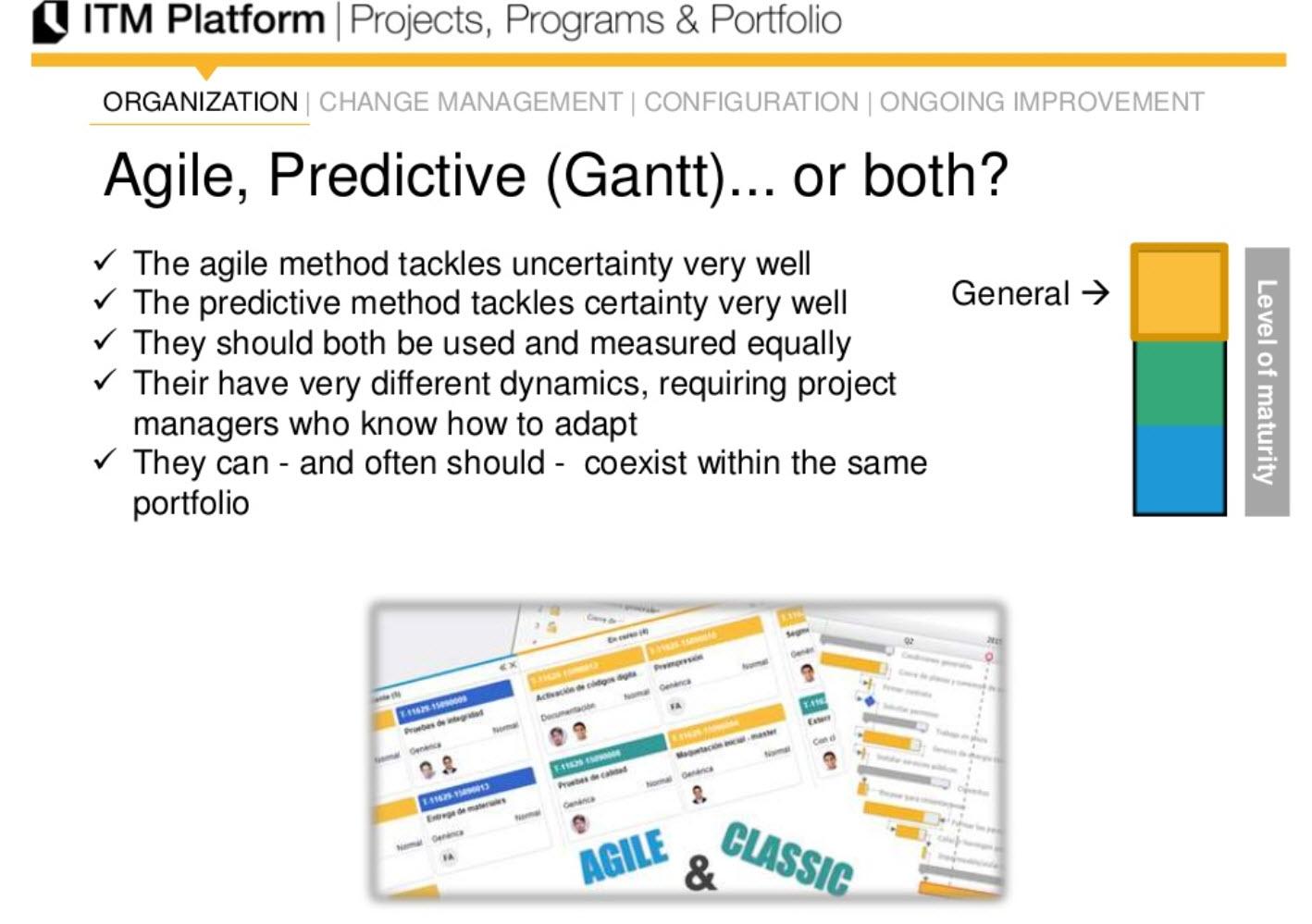 Agile, predicitve (Gantt)... or both?