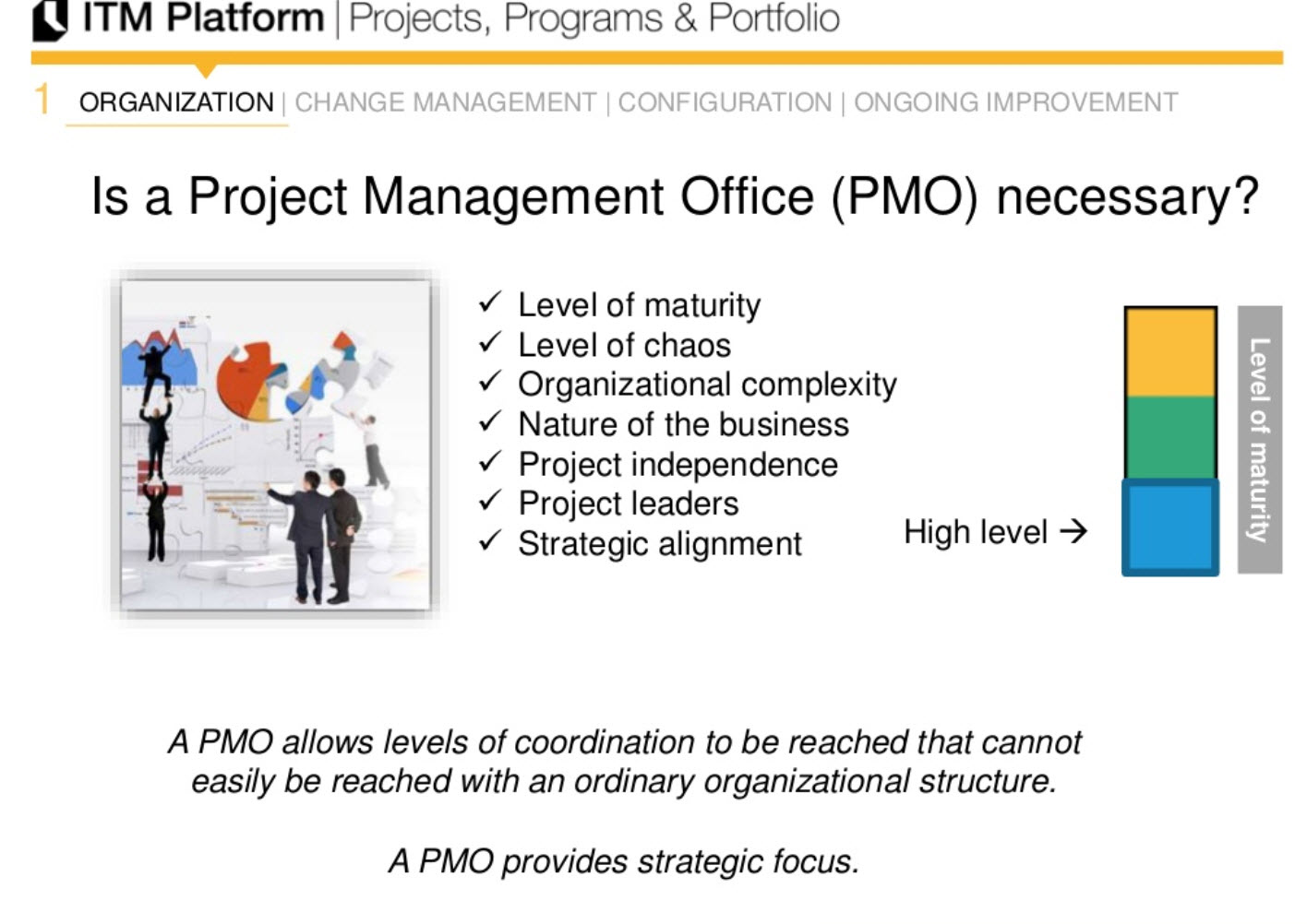 Is a project management office (PMO) necessary?