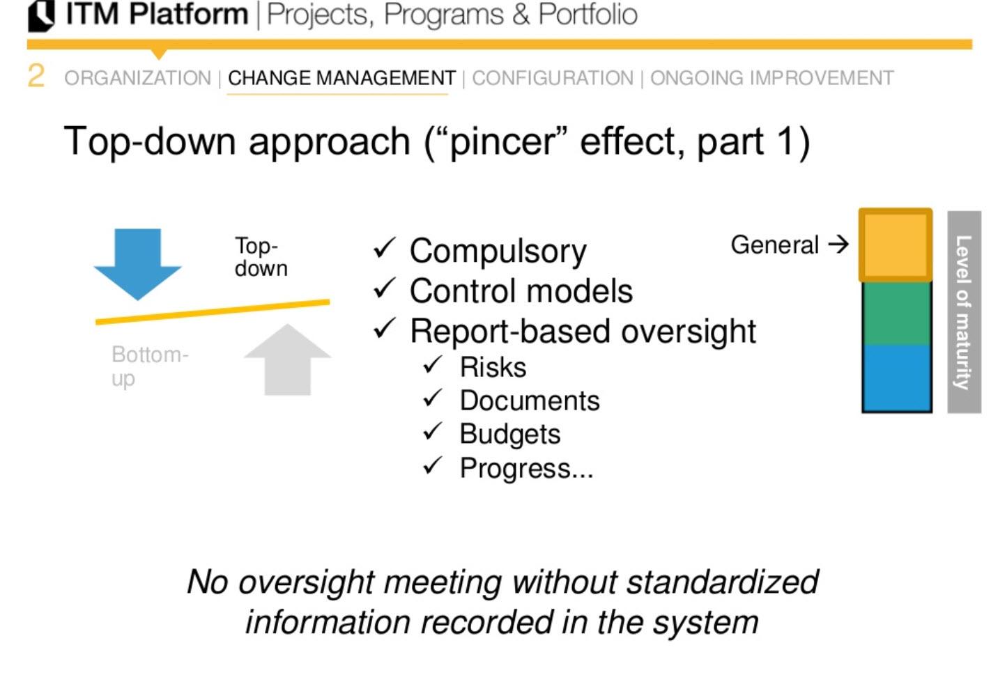 "top-down apprach (""pincer"" effect, part 1)"