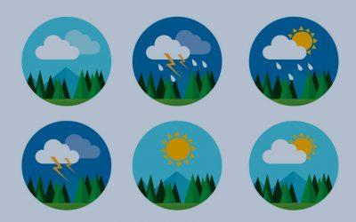 O PMO como estação meteorológica