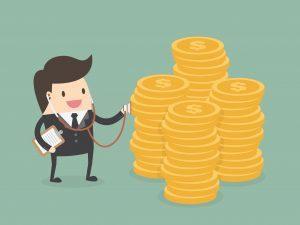 Un empresario toma el pulso de su dinero