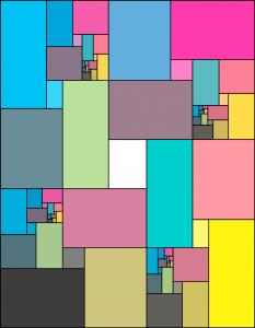 Rectángulos de color