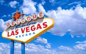 Panel de bienvenido, La Vegas