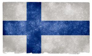Bandeira, Finlândia