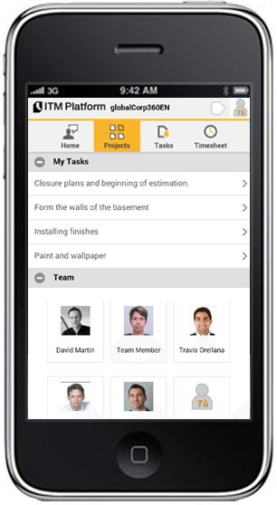 Instala la aplicación móvil de ITM Platform