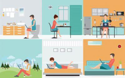 Trabajar desde casa como miembro de un proyecto, ¿realmente funciona?