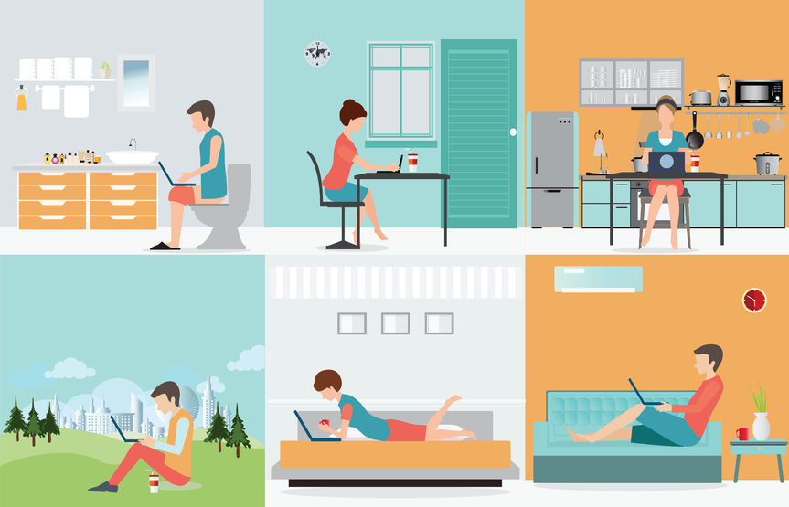Does Working from Home as a Project Team Member Really Work?