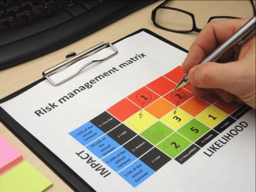 Quais os principais riscos em gerenciamento de projetos?